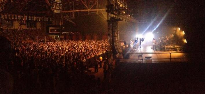 UCSB Events Center during concert